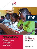 USAID EDucation Strategy Feb 2011 - 2015