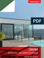 Katalog okien 2012