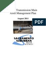 FINAL - Water Transmission Main Asset Management Plan - August 2011
