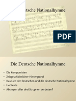 Die Deutsche Nationalhymne