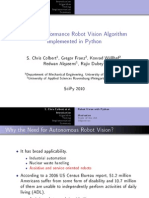 Sccolbert Robot Vision