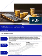 Market Research Report :Mobile Commerce Market in India 2012