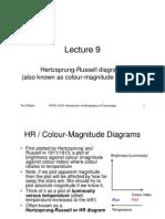 L9 HR Diagrams