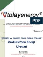 Biokütle'den Enerji  Üretimi, Mustafa Tolay