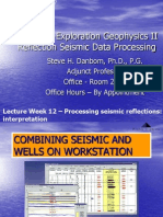 Seismic Processing II