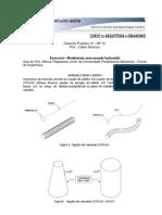 Exercício  Modelagem Escada Helicoidal