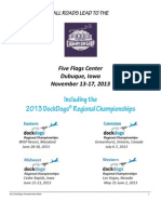 2013 DockDogs Regionals - All Roads Lead To World Championships in Dubuque!