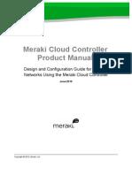 Meraki Product Manual Cloud Controller