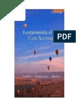 Cost Accounting 2010 Updatex2
