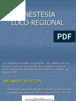 Anestesia Local en MV
