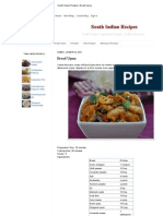 South Indian Recipes_ Bread Upma