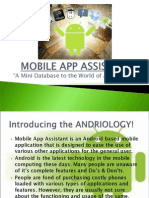 Mobile App Assistant-final