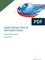 Preqin Public Pensionf Plan Performance Research Report