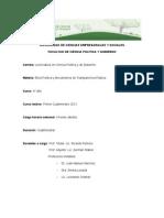 Programa Etica Política y Mecanismos de Transparencia Pública