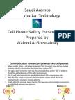 Cellphone Safety