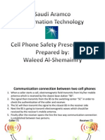 Cellphone Safety