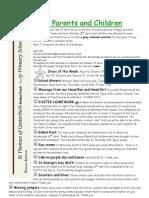 Newsletter 30th Mar