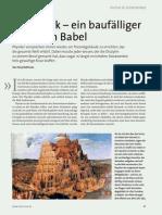 Die Physik - ein baufälliger Turm zu Babel