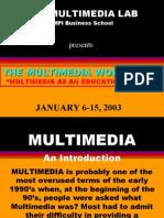 multimedia - introduction