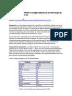 Conceptos Basicos de Meteorologia de Contaminacion Del Aire