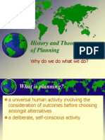 2008 History Theory of Planning