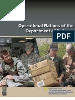 Operational Rations Handbook 2006