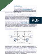 The Transistor Astable Multi Vibrator