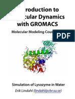 Gromacs Molecular Modeling Tutorial