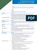 Exalead Connectors and Formats