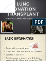 Lung Donations Real Project