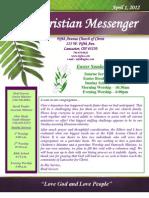 April 1 Newsletter