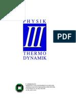 Experimentalphysik III - Thermodynamik