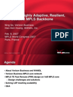 Building a Highly Adaptive Resilient and Scalable Mpls1352