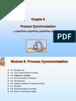 Silberschatz Ch06 Process Synchronization