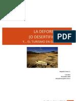 Desertificación y Turismo
