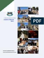 cuenta publica 2011 municipalidad de petorca