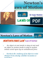 The E Tutor - Laws of Motion