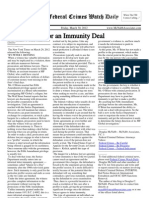 March 30, 2012 - The Federal Crimes Watch Daily