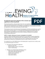 Important Steps in Estimation of the Economic Aspects of Telemedicine Applications