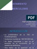 Tratamiento de La Tuberculosis.