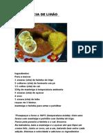 bolo delicia de limão