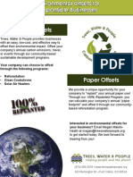 Environmental Offsets for Responsible Businesses