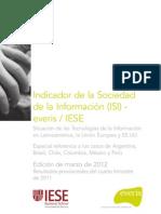 Indicador de la Sociedad de la Información (ISI) - everis / IESE