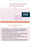 Implementation of Labor Laws and Policies