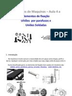 Elementos de maquinas - Aula 4 - Elementos de fixação - parafusos