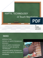 Haptic Technology Ppt