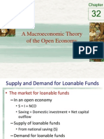 Chapter 32- A Macro Economic Theory of the Open Economy