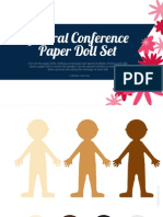 General Conference Paper Doll Packet