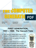 The Computer Generations 2