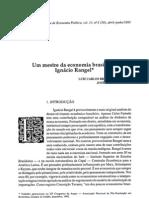 Biografia Ignácio rangel